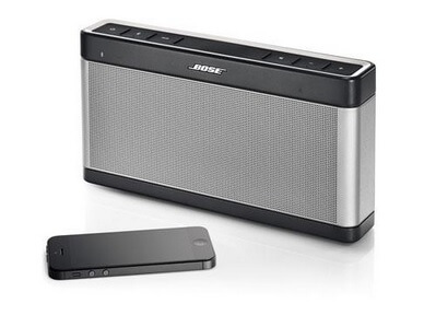 enceinte bluetooth bose soundlink iii une valeur s re. Black Bedroom Furniture Sets. Home Design Ideas